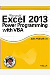 Excel 2013 Power Programming with VBA (Mr. Spreadsheet's Bookshelf Book 15) Kindle Edition