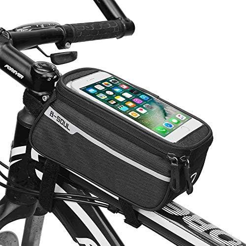 ZMunited - Bolsa Impermeable para Marco de Bicicleta con Pantalla ...
