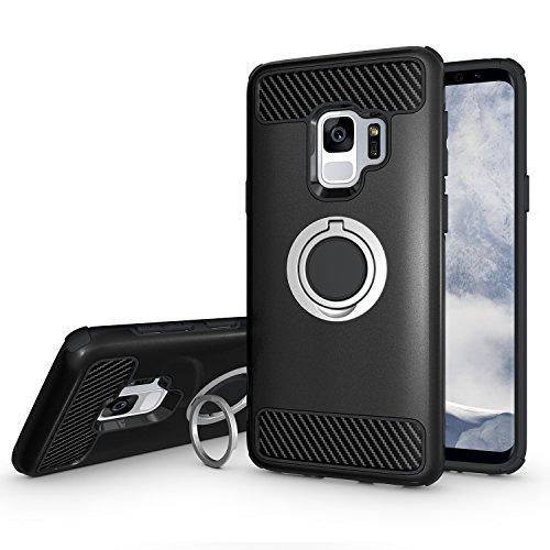 Newseego Samsung Galaxy S9 Case with Armor Dual...
