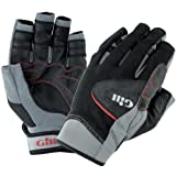 Gill Championship Short Finger Sailing Gloves Black 7241 Sizes- - Large