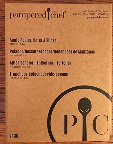 The Pampered Chef 2430 Apple Peeler, Corer, Slicer (The Pampered Chef Apple Slicer)