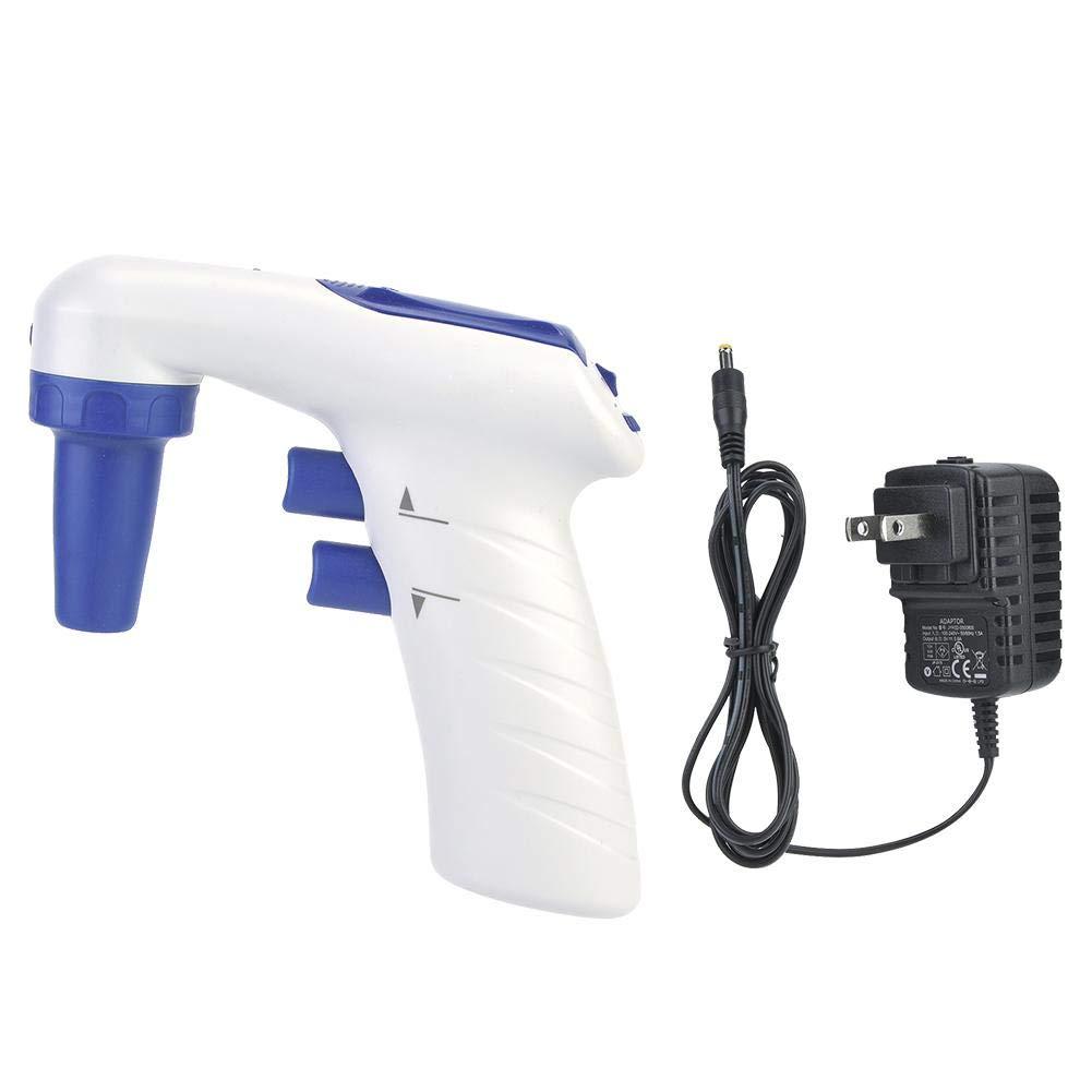 Controlador de pipeta electrónica científica, 0.1-100ml Máquina de prueba de muestreo médico US Plug 100-240V: Amazon.es: Industria, empresas y ciencia