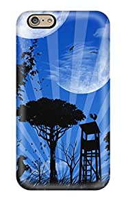 Iphone 6 The Land Of Many Moons Print High Quality Tpu Gel Frame Case Cover