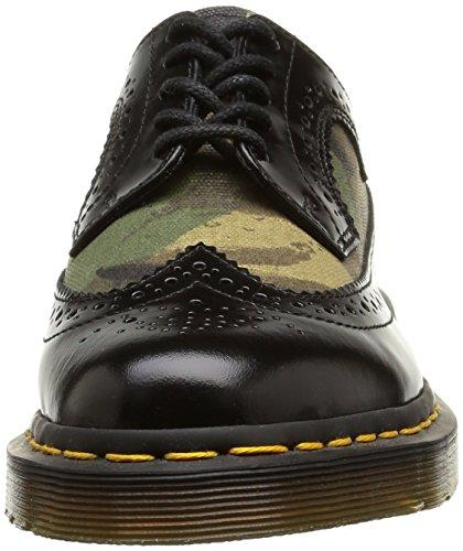 Stringate Martens adulto Camo Unisex Basse Dr black 3989 Scarpe green Brogue Multicolore wFdxftq