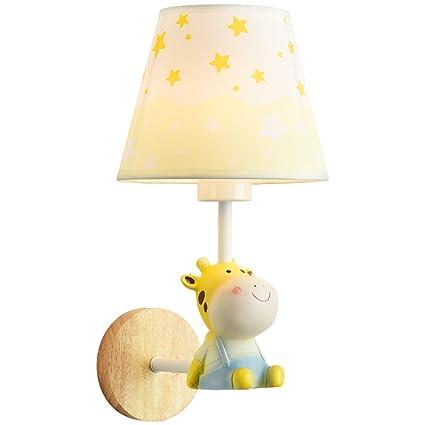 Amazon Com Hjl Children S Room Wall Lamp Cute Animal Cartoon