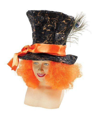 Alice In Wonderland Mad Hatter Male Fancy Dress Costume Accessory & Hair by Parties (Alice In Wonderland Costumes Party City)