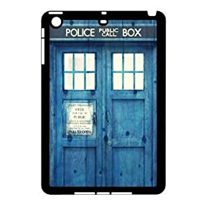 C-EUR Diy Case Doctor Who TARDIS Police Call Box Customized Hard Plastic Case For iPad Mini