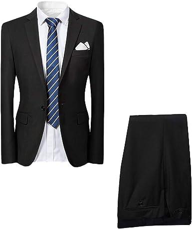 Allthemen Hochzeitsanzug Herren Anzug Slim Fit Herrenanzug Anzüge für Hochzeit Business Party
