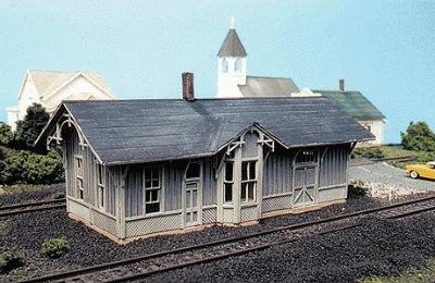 Blair Line Ho Scale Laser - Blair Line HO Scale Kit Laser-Cut C&O Depot