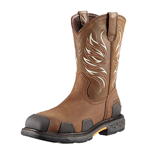 Pictures of Ariat Mens Overdrive Comp Toe Western Work 884849576519 1