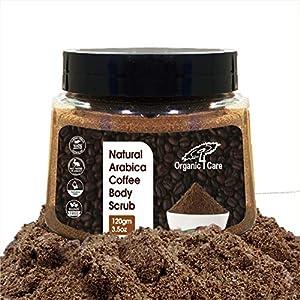 Organic 4 Care Coffee body scrub for skin care, tan Removal, exfoliating scrub, Stretch marks, d tan, skin brightening…