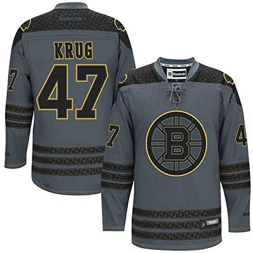 nhl-boston-bruins-47-torey-krug-mens-premier-jersey-charcoal-color-size-m