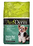 AvoDerm Natural Chicken Meal and Brown Rice Formula Small Breed Adult Dog Food, 7-Pound, My Pet Supplies