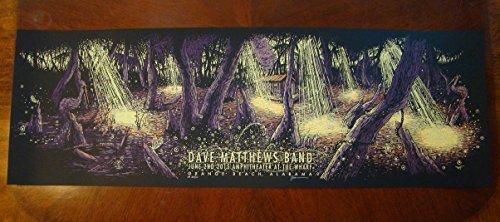 - Dave Matthews Band Concert Poster Orange Beach