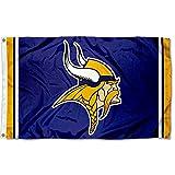 WinCraft Minnesota Vikings Large NFL 3x5 Flag