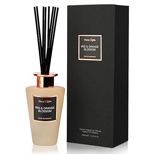 - Home Fragrance & Decor Oil Reed Diffuser, 6.76 fl.oz/200ml,Iris & Orange Blossom