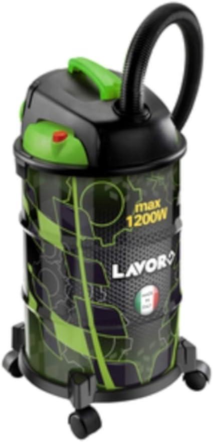 Lavor Rudy 3OS - Aspirador sólido líquido de acero, 30 l, 1200 W: Amazon.es: Hogar