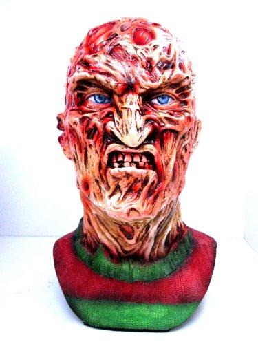 Horror Movie Freddy Krueger Head 1/1 Resin Model Complete Paint by CustomMade