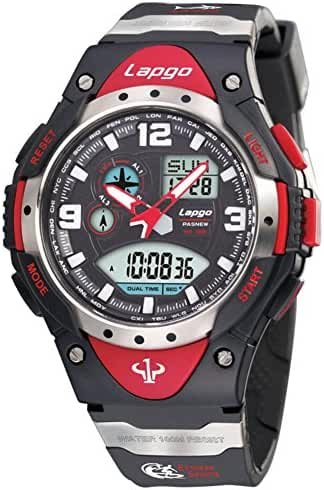Boy100U.S. waterproofing/Outdoor sports/Timing/Luminous/Multifunctional electronic watches-D