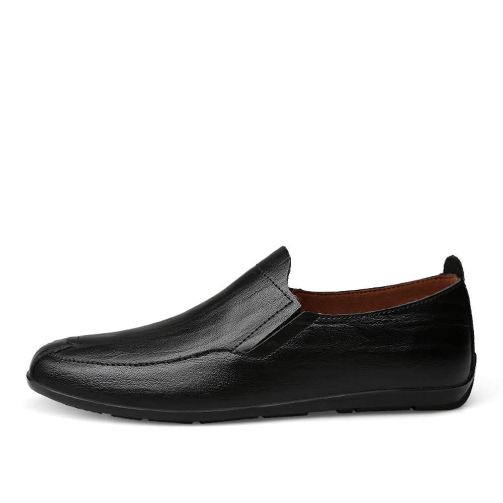 Shufang-schuhe Shufang-schuhe Shufang-schuhe 2018 Herren Mokassins Schuhe, Fahrende Müßiggänger der Männer, Art und Weise beiläufige und Bequeme Klassische weiche britische Art-Stiefel-Mokassins (Farbe   Light braun, Größe   43 EU)  fc381e