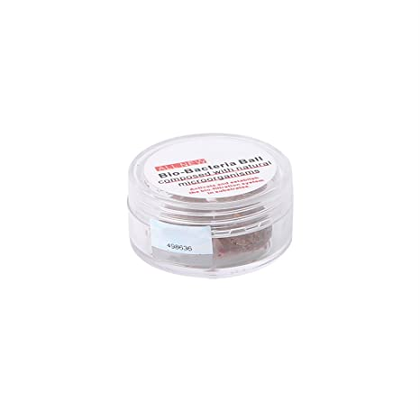 Xuniu 3 Piezas Nitrobacteria Bio Bacterial Ball Agua Limpia para Acuario Estanque de Peces Browm 3