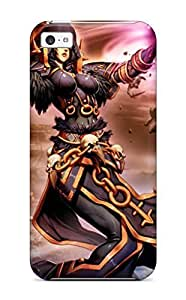 Iphone 5c Case Cover - Slim Fit Tpu Protector Shock Absorbent Case (elf Fight)