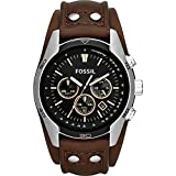 Fossil Coachman Chronograph Leather Watch