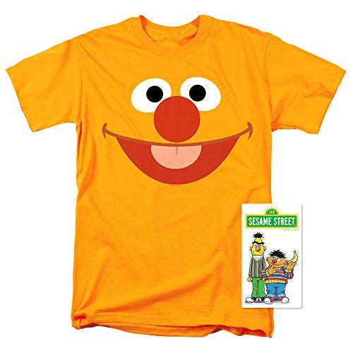 Sesame Street Ernie Face T Shirt - Films Art On