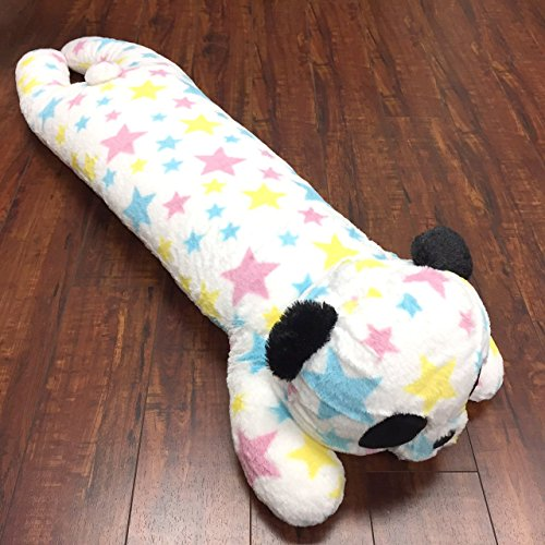 Tokyo Japanese Gift - Long Body Pillow - Animla Pillow - Hugging Pillow (Super Star Panda)