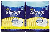 Always Regular Maxi Pads with Wings, Unscented - 36 ct - 2 pk