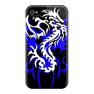 Great Cell-phone Hard Covers For Iphone 4/4s (CdR14029nWtl) Allow Personal Design HD In Flames Band Series