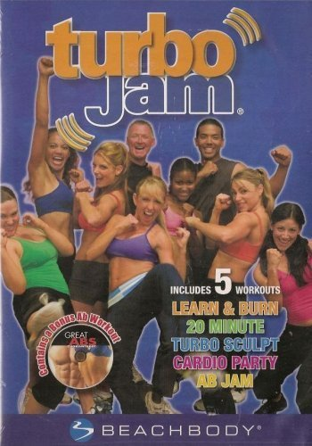 Turbo Jam 2-disc Set Includes 5 Workout Routines (Jam Dvd)