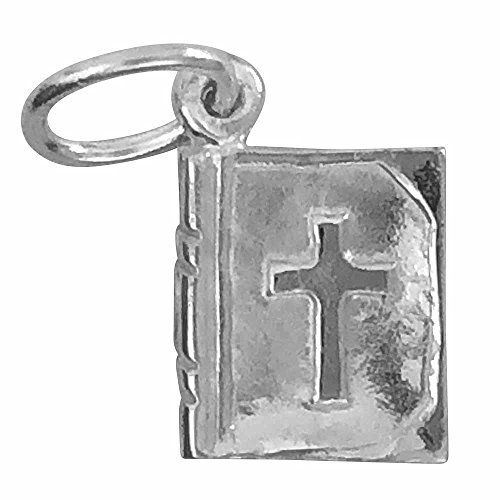 Silver Charm Bible (sterling-silver) (sterling-silver) (Sterling Bible Silver)