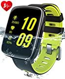Fitness Tracker,GV68 Smart watch Activity Trackers Wristband Heart Rate Monitor Sport Bracelet Pedometer Bluetooth 4.0 IP68 Waterproof Smartwatch for iPhone Android Smartphone