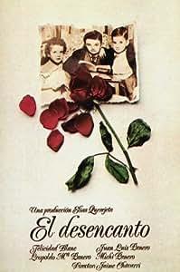 El Póster de película desencantamiento Español 11x 17en–28cm x 44cm Felicidad Blanc Leopoldo María Panero de Juan Luis Panero Michi Panero