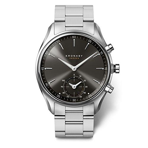 Kronaby Sekel Quartz Watch, Grey, 43mm, 10