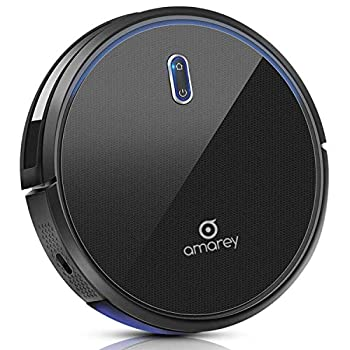 Image of Robotic Vacuum Cleaner - Robot Vacuum, 100mins Long Lasting, Super Strong Suction, Self-Charging,Timing Function, 2.7inch Super Thin, 4 Cleaning Modes, Hard Floor Robot Vacuums for Pet Hair, Carpet Home and Kitchen