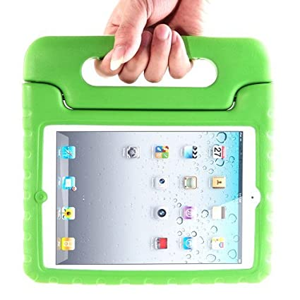 be1f0c4f95 Amazon.com: i-Blason ArmorBox Kido Series Light Weight Super Protection  Convertable Stand Cover Case for iPad 2, New iPad 3, iPad 4th Generation  (Green): ...