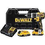"""DEWALT DCD796D2BT 20V MAX XR Li-Ion 2.0Ah Bluetooth 0.5"""" Compact Hammer drill Kit"""