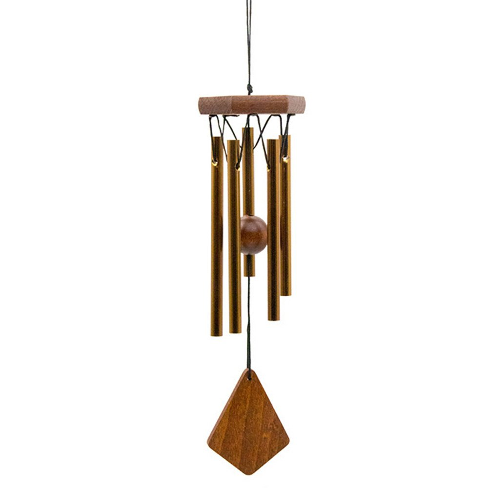 Outdoor or Indoor Wind Chimes, Metal Wind Chime Tubes are Tuned to the Opening Musical Notes of Amazing Grace to Produce Soothing Music in Memory of Favorite People and Places