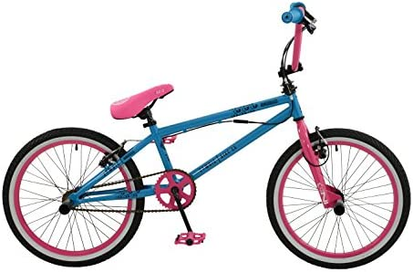 Zombie Girl Scream Bicicleta, Azul/Rosa, tamaño 20: Amazon.es ...