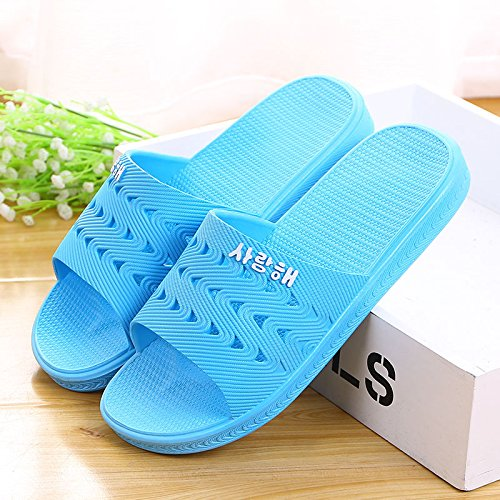 Summer sky blue bathroom home 37 skid anti slippers cZrZn1Yq