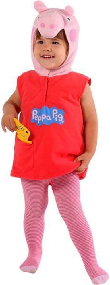 Fancy Me Disfraz de Peppa Pig Tabard para niñas de 3 a 5 años ...
