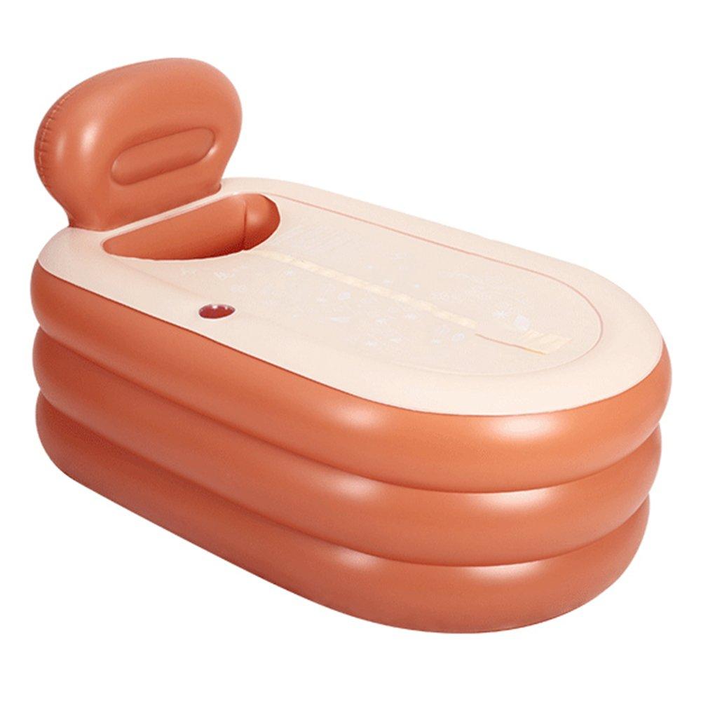 HONGYANDAI Aufblasbare Badewanne Kinder Badewanne Erwachsene Badewanne Faltbare Badewanne (140  90  85cm)