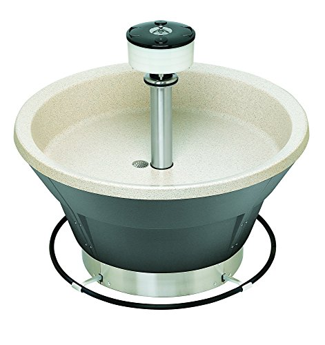 - Bradley S93-564 Bradstone Classic Circular Sandbox Wash Fountain for Up to 8 Users, 54