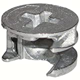 15mm x 9.5mm Thin Cam Lock Disc Nut Furniture