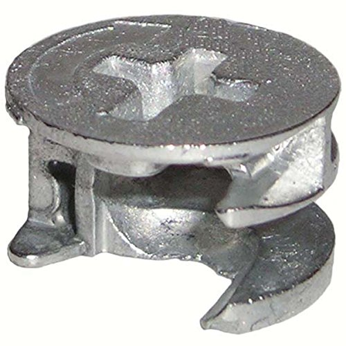 15mm x 9.5mm Thin Cam Lock Disc Nut Furniture Connector Fastener (10 Pieces) …