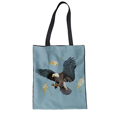 4aa665f533 Image Unavailable. Image not available for. Color  FORUDESIGNS Foldable Tote  Women Shopping Bags ...