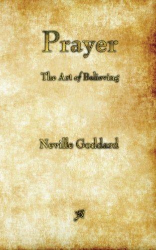 Prayer: The Art of Believing PDF