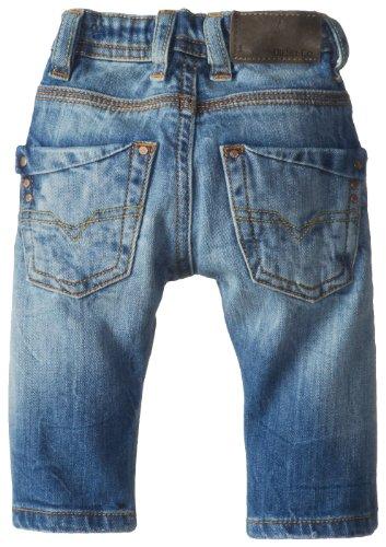 Diesel Baby-Boys Infant Krooley B Stretch Blue Denim Slim Fit Jean